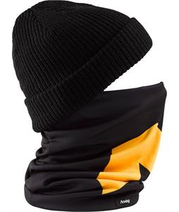 Analog Icon Neck Gaiter True Black