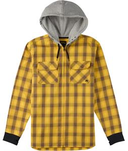 Analog Integrate Flannel Corp Yellow