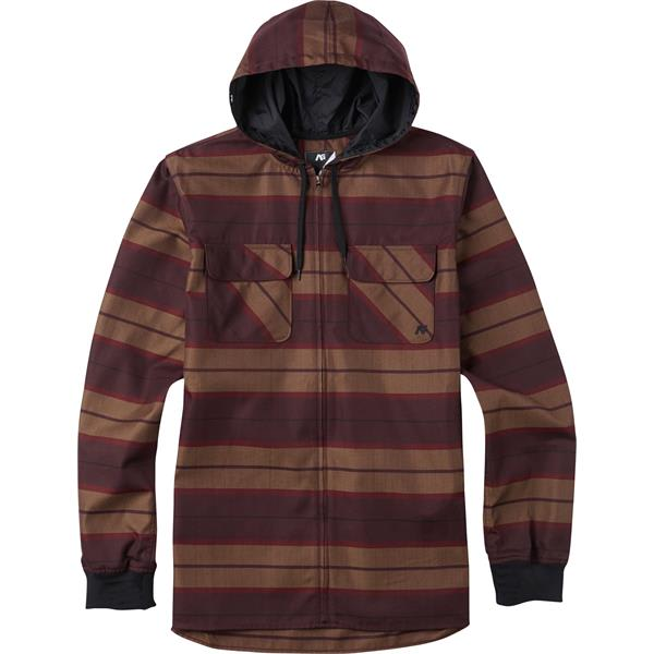 Analog Integrate Hooded Flannel