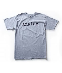 Analog Key Top Basic T-Shirt Athletic Heather