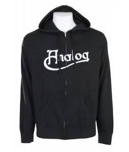 Analog Manifold Full Zip Hoodie Charcoal Heather