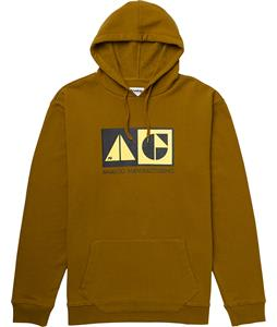 Analog MFG Hoodie Leather Brown