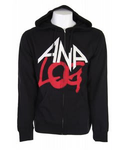 Analog Mixer Full Zip Hoodie True Black