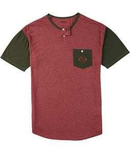 Analog Moonshine T-Shirt Burgundy