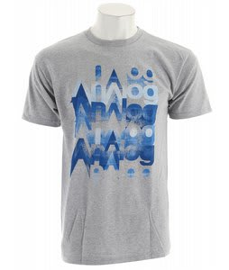 Analog Multiplicity T-Shirt Athletic Heather
