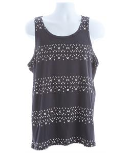 Analog Navajo Rug Stripe Tank Navy Blue