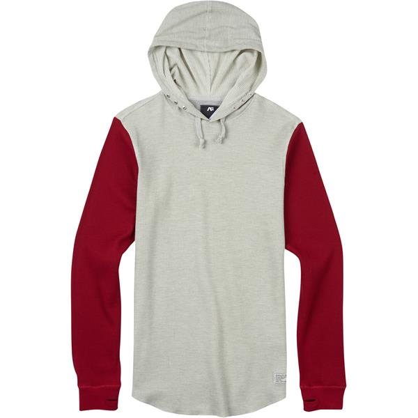 Analog Overlay Pullover Thermal Hoodie