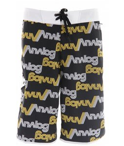Analog Payroll Boardshorts True Black