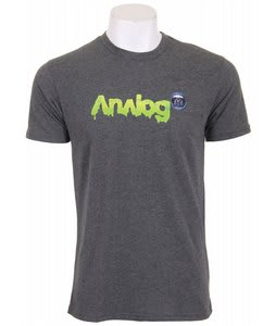 Analog Picture Show Fitted T-Shirt Charcoal Heather