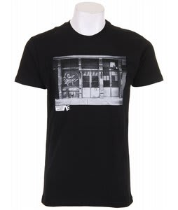 Analog Pla Entrar Fitted T-Shirt True Black