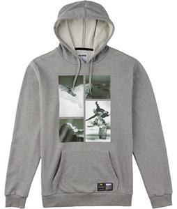 Analog PLA Hooded Pullover Hoodie Grey Heather