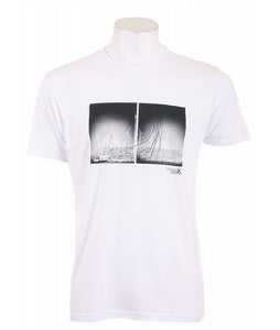 Analog Pla Dstrikt2 Fitted T-Shirt White