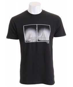 Analog Pla Dstrikt2 Fitted T-Shirt Black