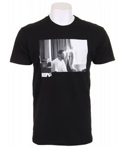 Analog Pla Stefan Fitted T-Shirt True Black