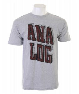 Analog AG Printblock S/S T-Shirt Athletic Heather