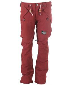 Analog Protocol Snowboard Pants Burgundy