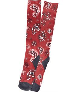 Analog Publication Socks Fish Paisley
