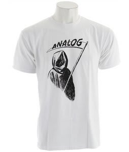 Analog Reaper T-Shirt White