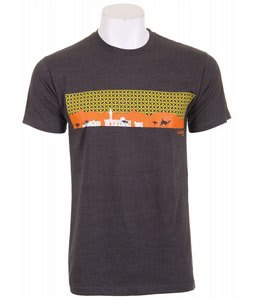 Analog Refuge Fitted T-Shirt Charcoal Heather