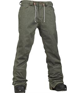 Analog Remer Snowboard Pants Indigo Denim