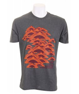 Analog Resident Fitted T-Shirt Charcoal Heather