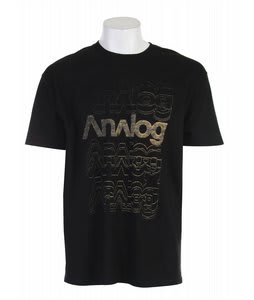 Analog Rotor T-Shirt Black