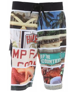 Analog Seven Mile Boardshorts True Black