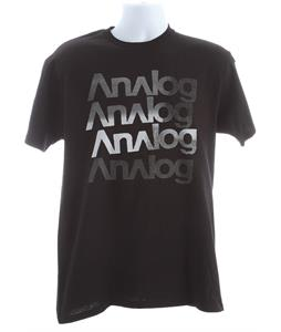 Analog Shadow Stacker T-Shirt Black