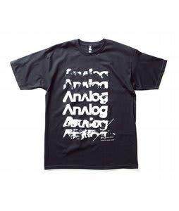 Analog Sixer Basic T-Shirt Black