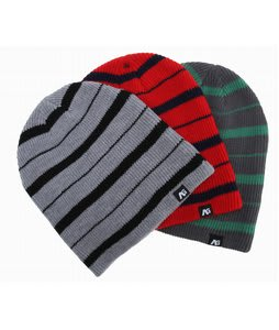Analog Slouch Beanies 3 Pack Red/Green/Gray