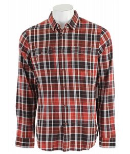 Analog Spacey Shirt Brick Red