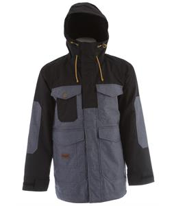 Analog Stanford Snowboard Jacket True Black/Indigo Denim