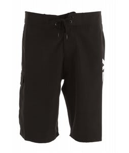 Analog Staple Boardshorts True Black