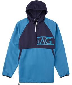 Analog Stashed Packable Jacket Glacier Blue/Navy Blue
