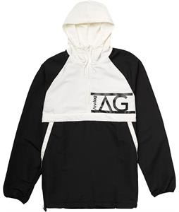 Analog Stashed Packable Jacket True Black/White