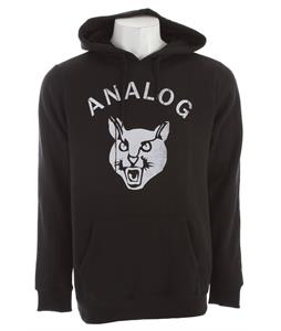 Analog Stray Cat Hoodie True Black