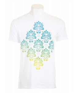 Analog Swarm Fitted T-Shirt Optic