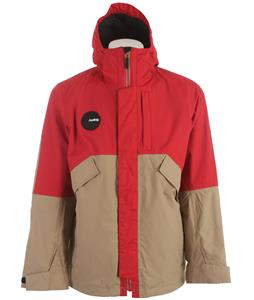 Analog Torrent Snowboard Jacket Red Rock/Vintage Khaki