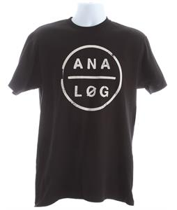 Analog Tough Pill Basic T-Shirt Black