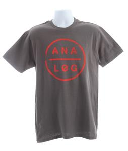 Analog Tough Pill Basic T-Shirt Charcoal