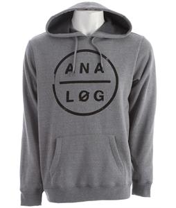 Analog Tough Pill Hoodie Grey Heather