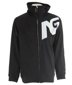 Analog Transpose 4 Zip Hoodie True Black