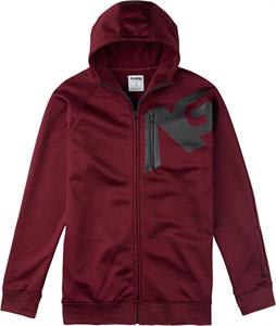 Analog Transpose Hoodie Burgundy
