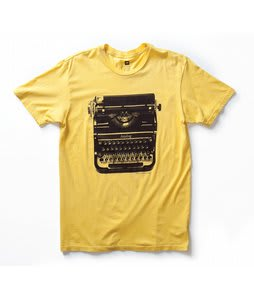 Analog Typewriter Vintage T-Shirt Marigold