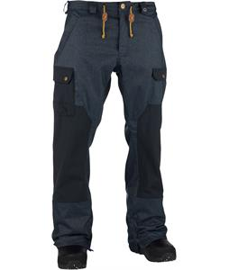 Analog Upland Snowboard Pants Indigo Denim/True Black