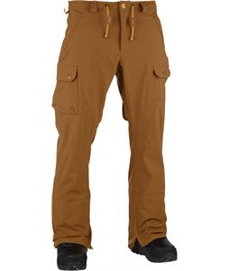 Analog Upland Snowboard Pants Leather Brown