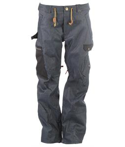 Analog Upland Snowboard Pants Indigo Denim