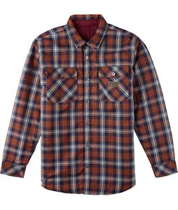 Analog Variant Flannel Burgundy