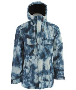 Analog Wasteland Snowboard Jacket Acid Wash Print