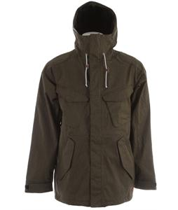 Analog Wasteland Snowboard Jacket Off Black